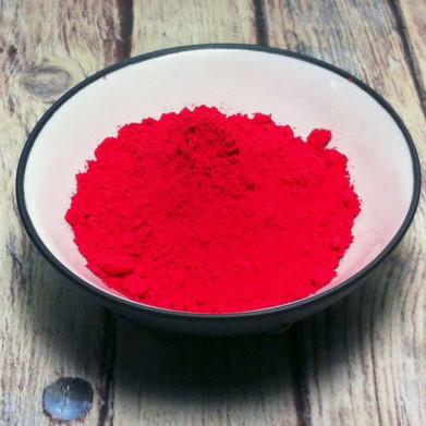 Rouge cinabre en poudre