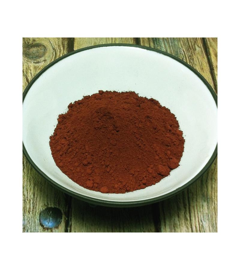 Rouge indien en poudre