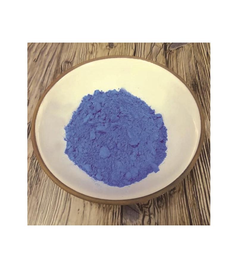 Bleu charrette en poudre