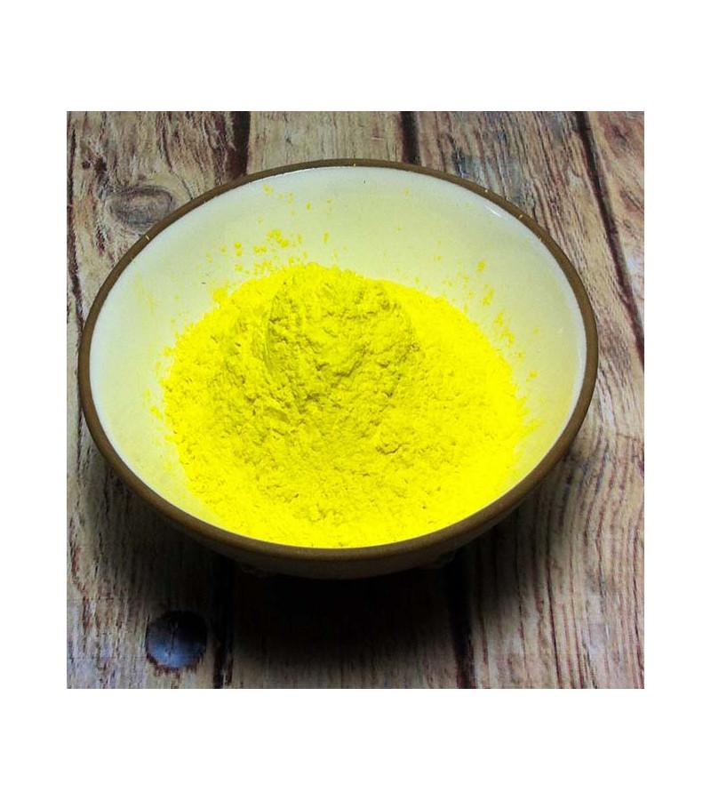 Jaune citron en poudre